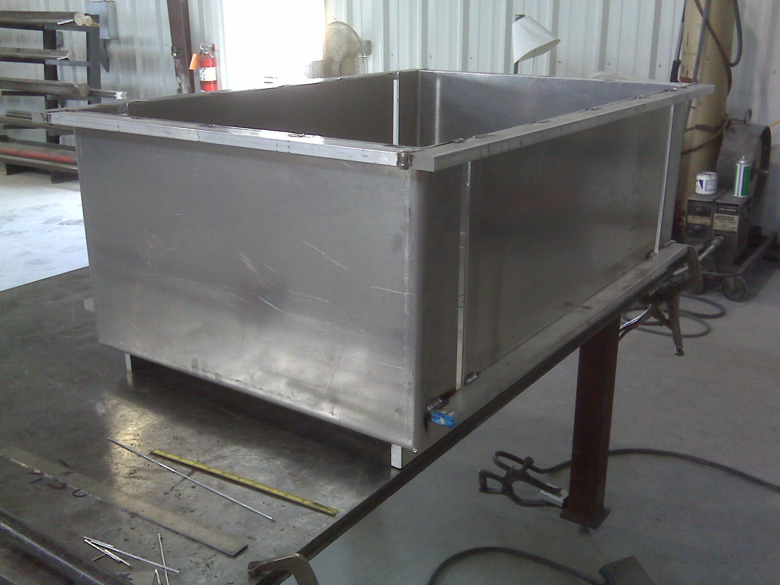 Fabricated aluminum molds (Typically completed in 3-6 weeks)